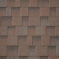Premium Asymmetrische Dachschindeln rot-zedernholz 3m²