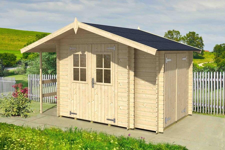 Lasita maja garten und ger tehaus vilano 59103500 - Gartenhaus aus aluminium ...