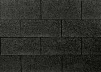 Premium Rechteckschindeln schwarz 3m²