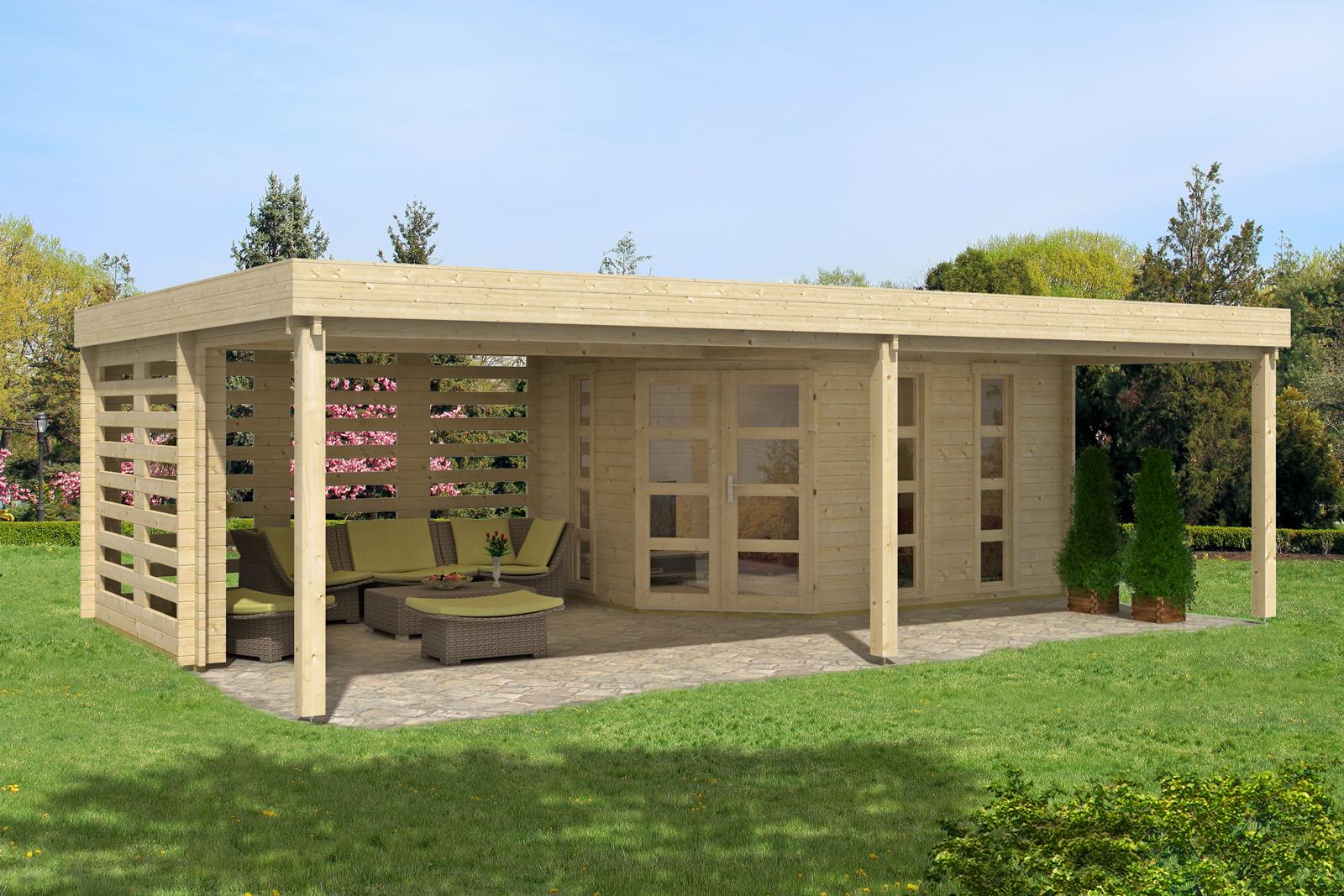 Gartenhaus panama 40 for Gartenhaus zum wohnen