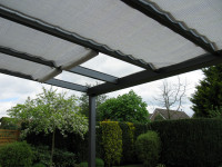 Sonnensegel für Terrassenüberdachung GD