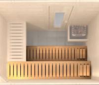 stabile Saunaliege 2