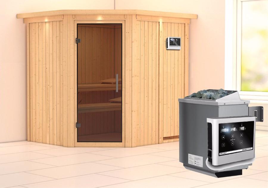 karibu sauna innenkabine siirin. Black Bedroom Furniture Sets. Home Design Ideas