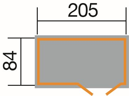 weka fahrrad und m lltonnenbox. Black Bedroom Furniture Sets. Home Design Ideas