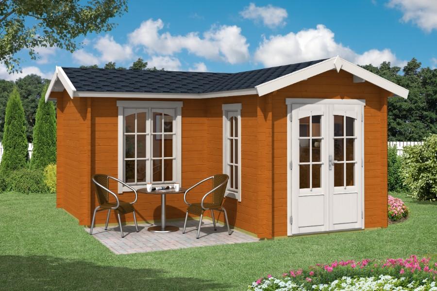 lasita maja gartenhaus portsmouth 44 iso. Black Bedroom Furniture Sets. Home Design Ideas