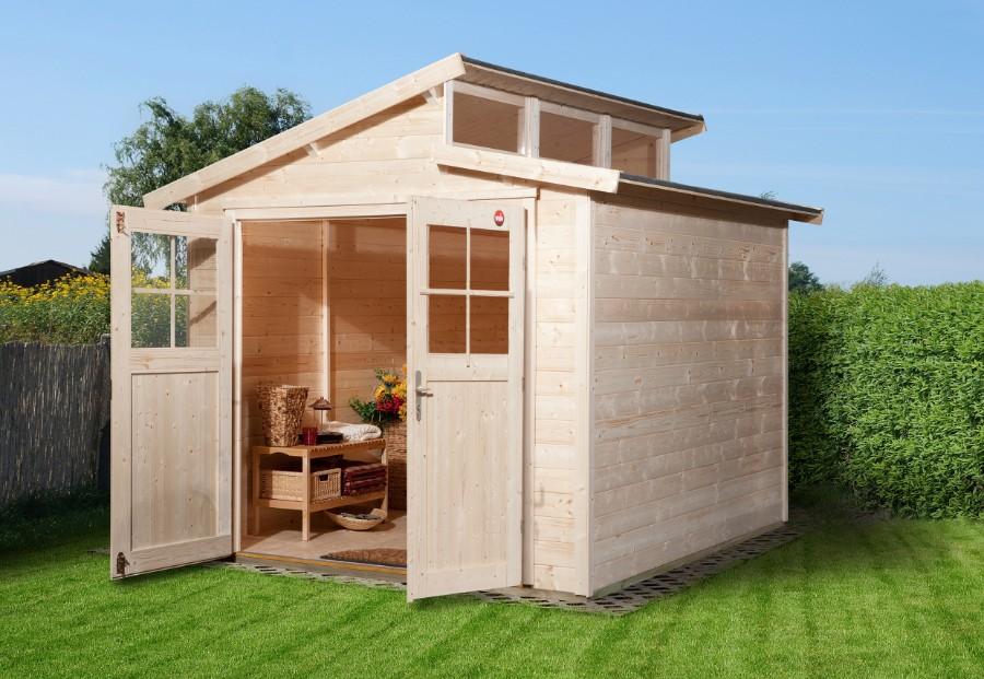 weka gartenhaus 226 gr 2 21 mm. Black Bedroom Furniture Sets. Home Design Ideas