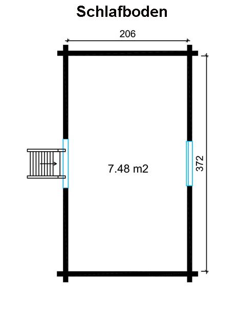 garten und freizeithaus arizona 90 premium. Black Bedroom Furniture Sets. Home Design Ideas