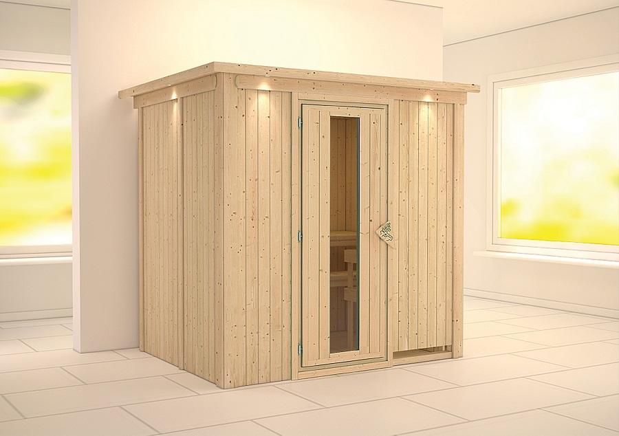 karibu sauna innenkabine bodin. Black Bedroom Furniture Sets. Home Design Ideas
