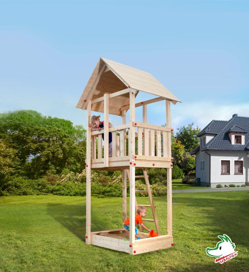 Gartenhaus 24 Qm Selber Bauen Gartenhaus Hersteller 24 De: Tabaluga Turm Satteldach