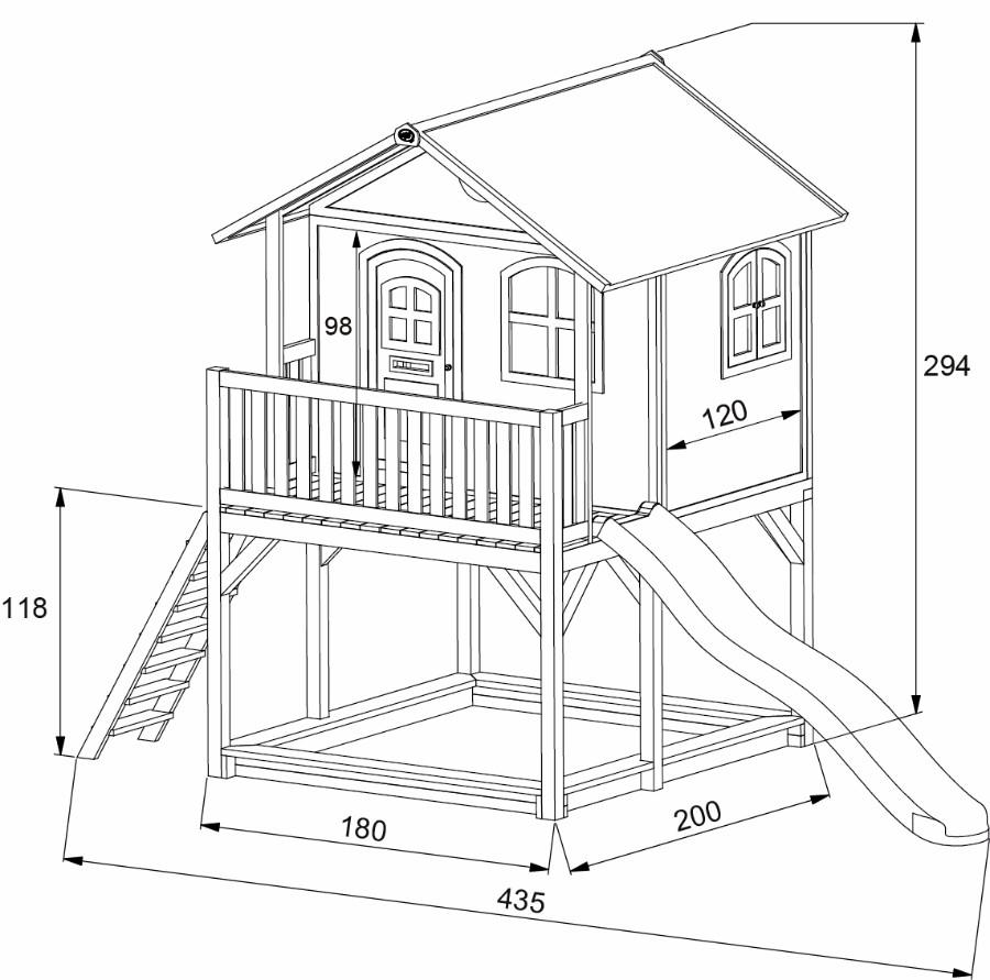 spielhaus marc. Black Bedroom Furniture Sets. Home Design Ideas