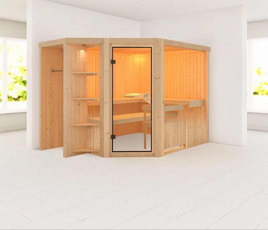 karibu sauna innenkabine syard. Black Bedroom Furniture Sets. Home Design Ideas