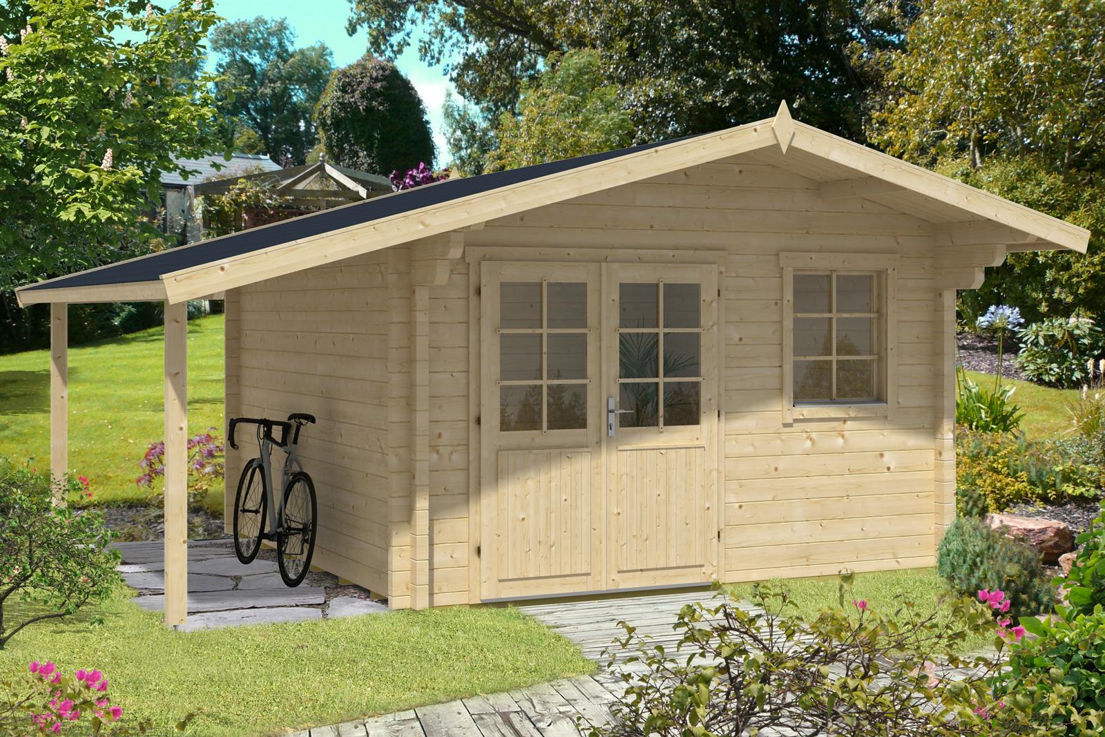 gartenhaus modell franco 70 premium gartenhaus modell. Black Bedroom Furniture Sets. Home Design Ideas