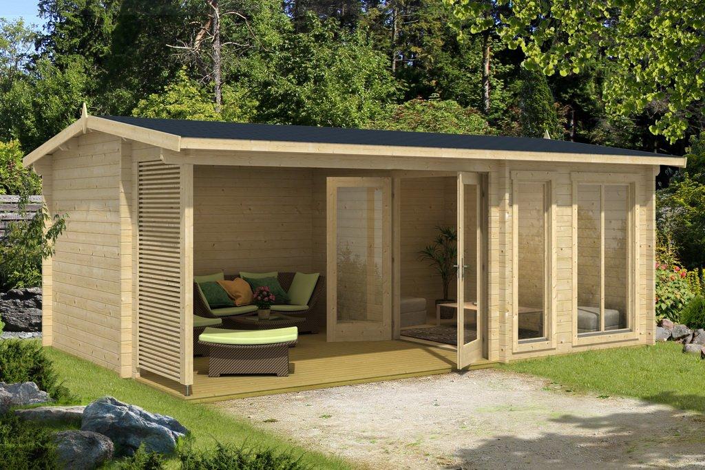 lasita maja gartenhaus torquay iso 4417502. Black Bedroom Furniture Sets. Home Design Ideas