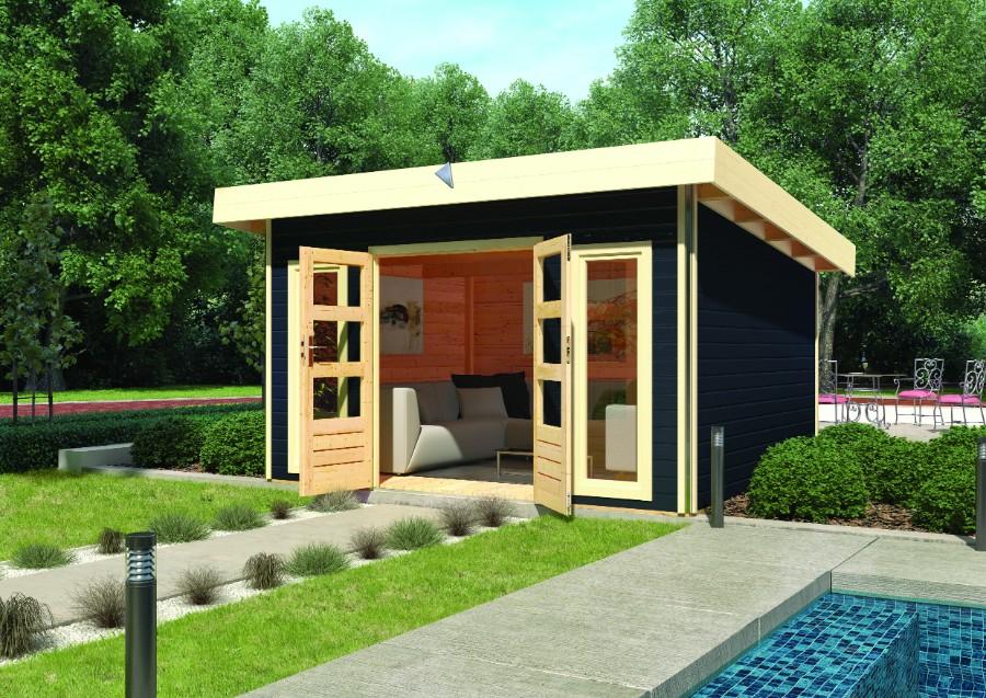 karibu gartenhaus tecklenburg 1. Black Bedroom Furniture Sets. Home Design Ideas