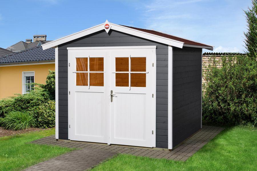 weka gartenhaus 224 gr 3. Black Bedroom Furniture Sets. Home Design Ideas