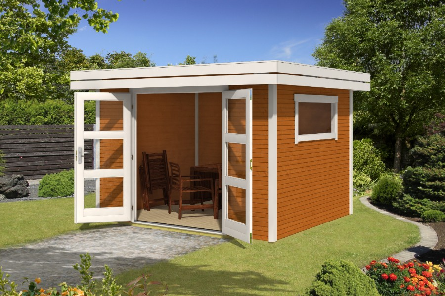 lasita maja gartenhaus faro 1 290100. Black Bedroom Furniture Sets. Home Design Ideas