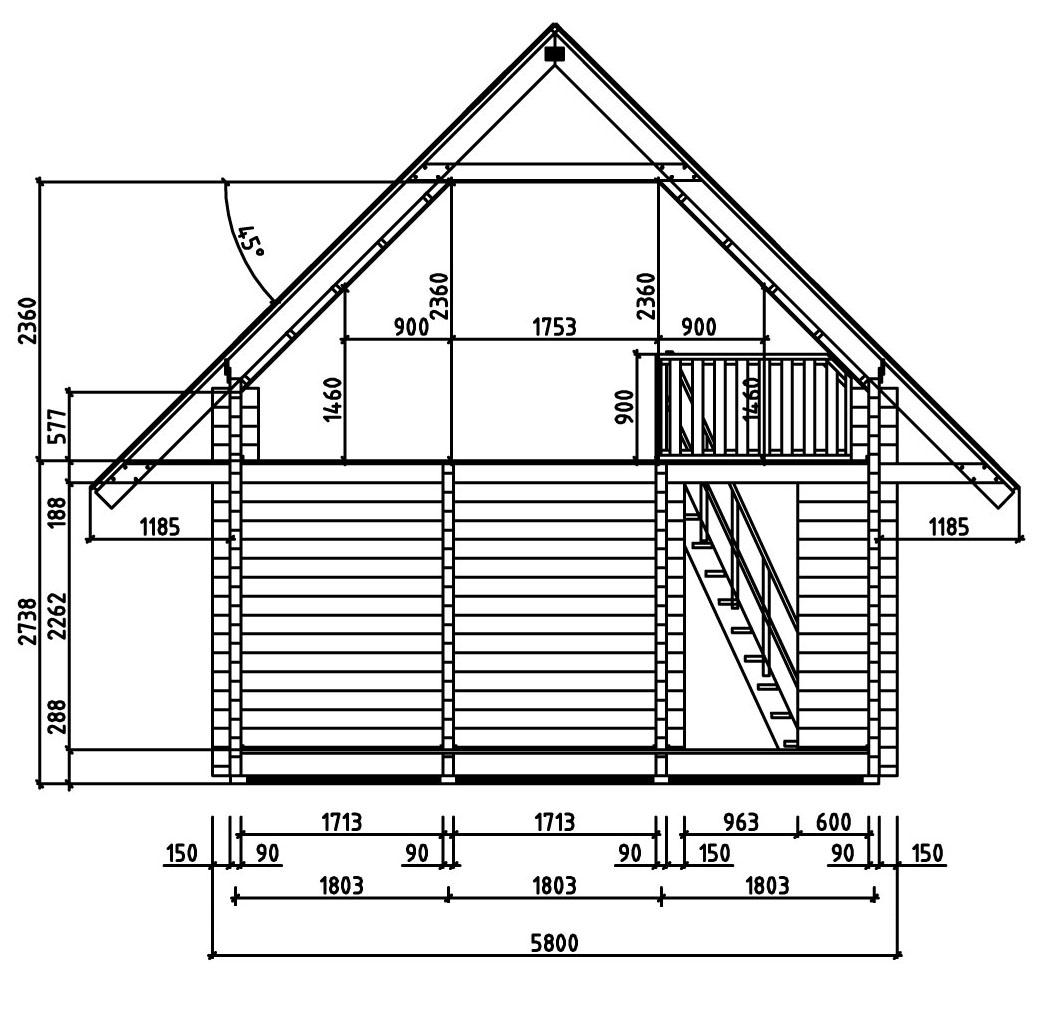 garten und freizeithaus kelkheim 90 premium a z. Black Bedroom Furniture Sets. Home Design Ideas