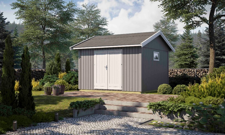 lasita maja gartenhaus nordic 12. Black Bedroom Furniture Sets. Home Design Ideas