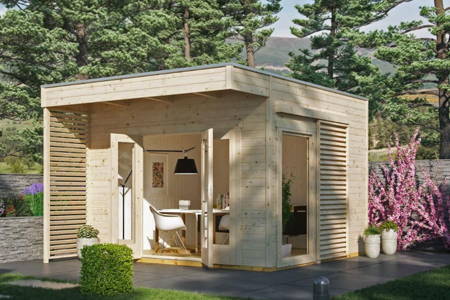 gartenhaus tokio 2 4. Black Bedroom Furniture Sets. Home Design Ideas