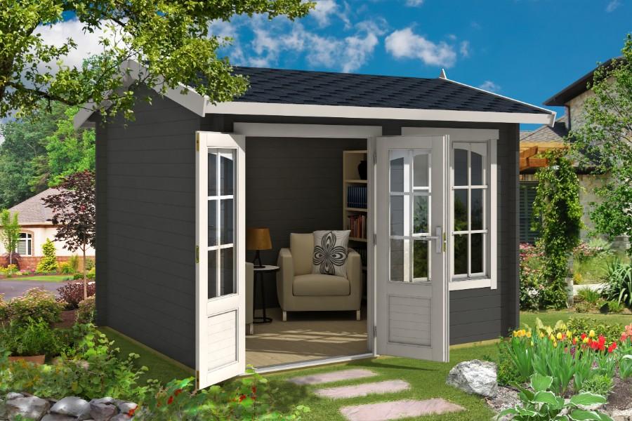 lasita maja gartenhaus alex iso 4414440. Black Bedroom Furniture Sets. Home Design Ideas
