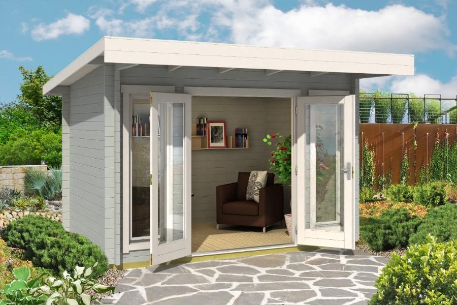 lasita maja gartenhaus barbados mini iso 4415040. Black Bedroom Furniture Sets. Home Design Ideas