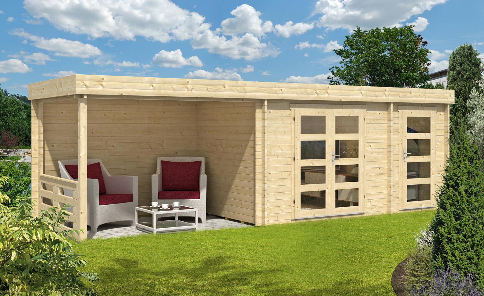 flachdach gartenhaus neustadt 40 mit anbau gartenhaus neustadt 40 mit anbau. Black Bedroom Furniture Sets. Home Design Ideas