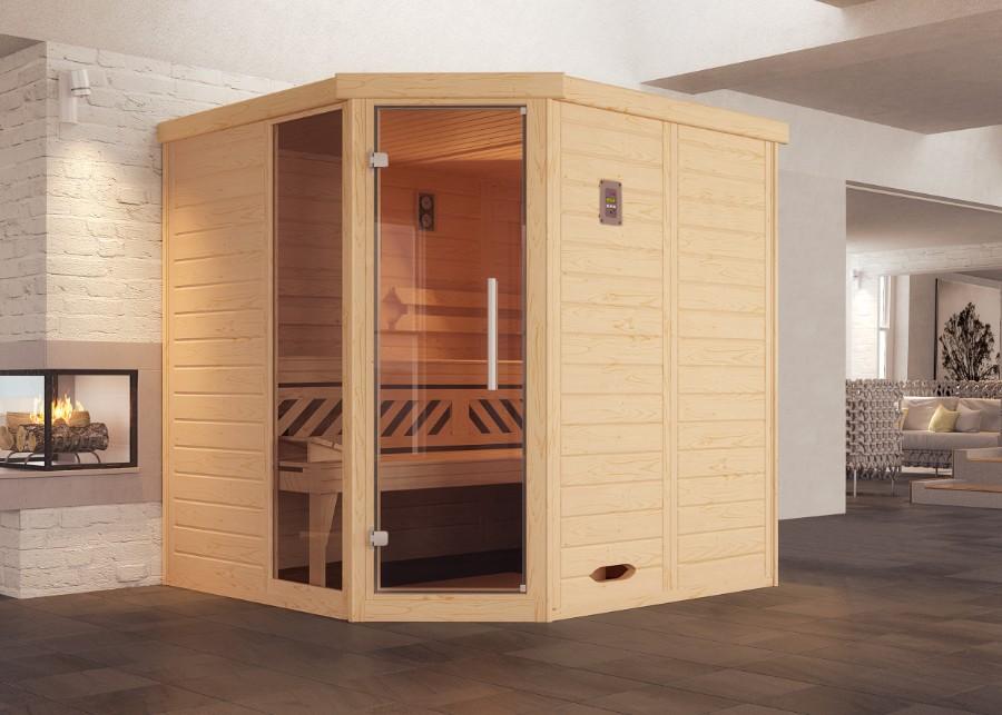 weka elementsauna kemi eck. Black Bedroom Furniture Sets. Home Design Ideas