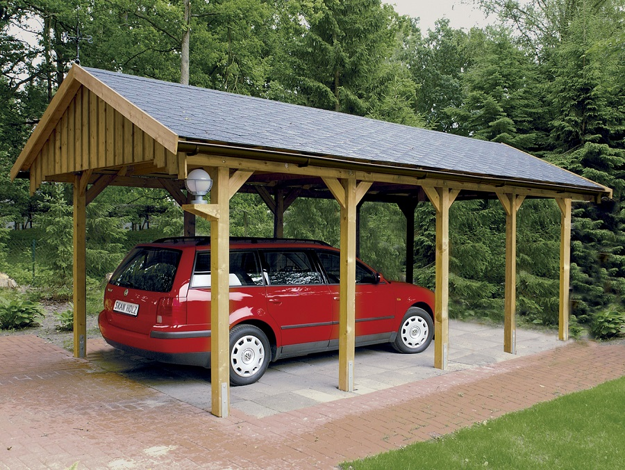 carport sauerland 430 x 900 cm mit dachschalung 321919. Black Bedroom Furniture Sets. Home Design Ideas