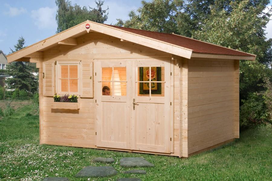 weka gartenhaus 109 gr 2 28 mm. Black Bedroom Furniture Sets. Home Design Ideas