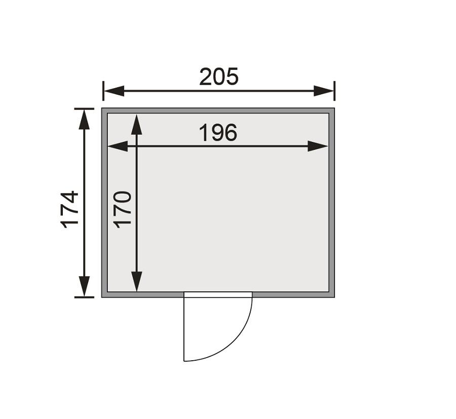 karibu fass sauna 1. Black Bedroom Furniture Sets. Home Design Ideas