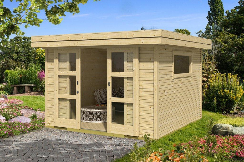 lasita maja gartenhaus faro 7 290700. Black Bedroom Furniture Sets. Home Design Ideas