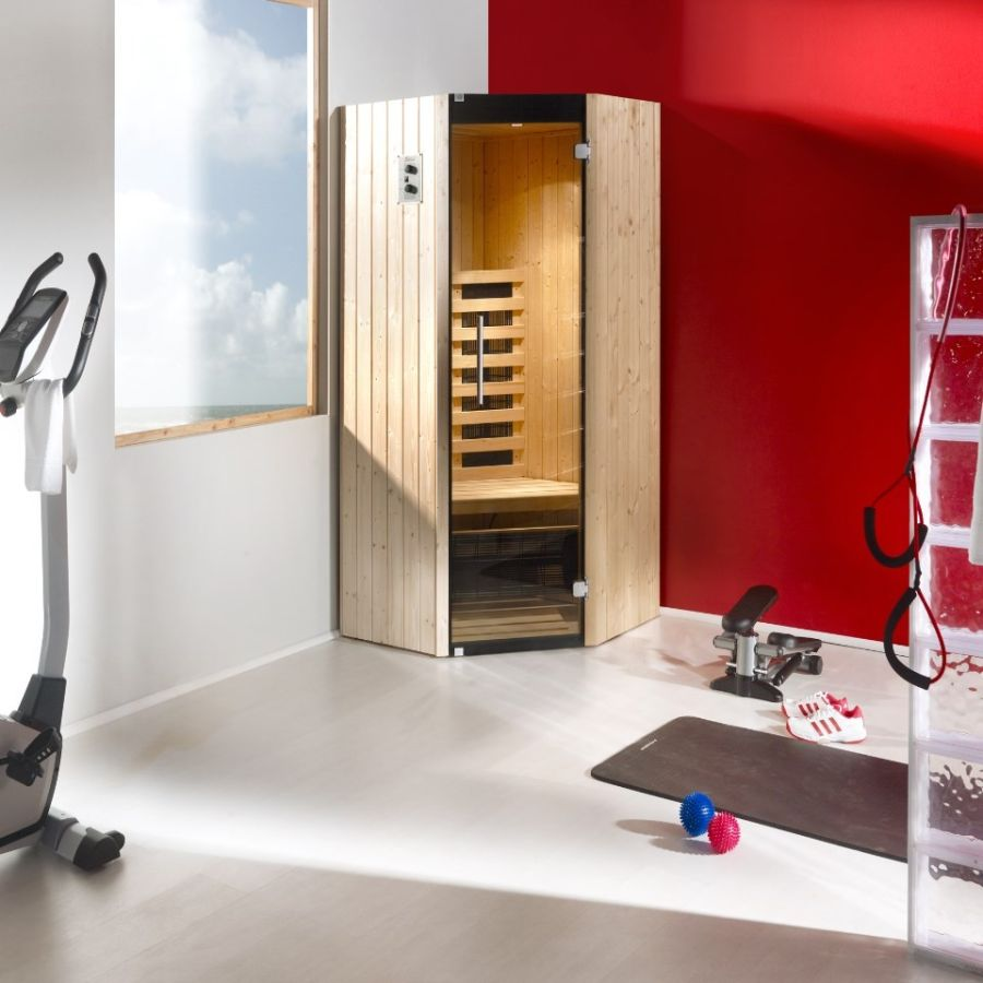weka infrarotkabine tanillaeck. Black Bedroom Furniture Sets. Home Design Ideas
