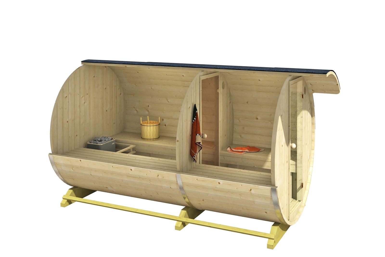 finn therm fass sauna finn. Black Bedroom Furniture Sets. Home Design Ideas