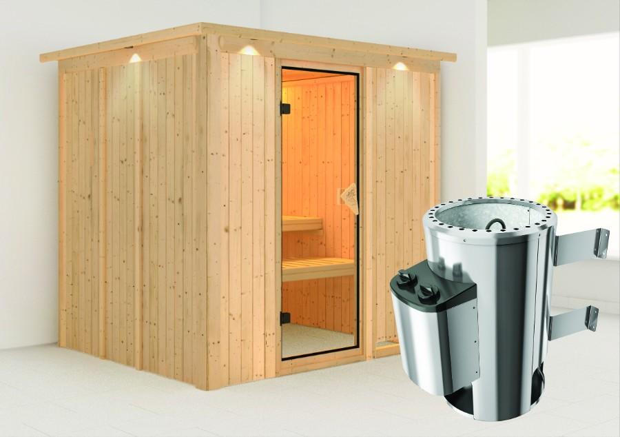 karibu sauna innenkabine daria. Black Bedroom Furniture Sets. Home Design Ideas