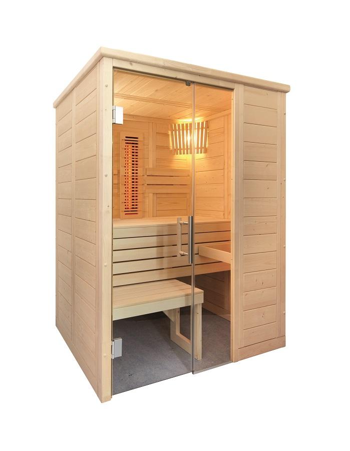 finntherm massivsauna espoo mini infra. Black Bedroom Furniture Sets. Home Design Ideas