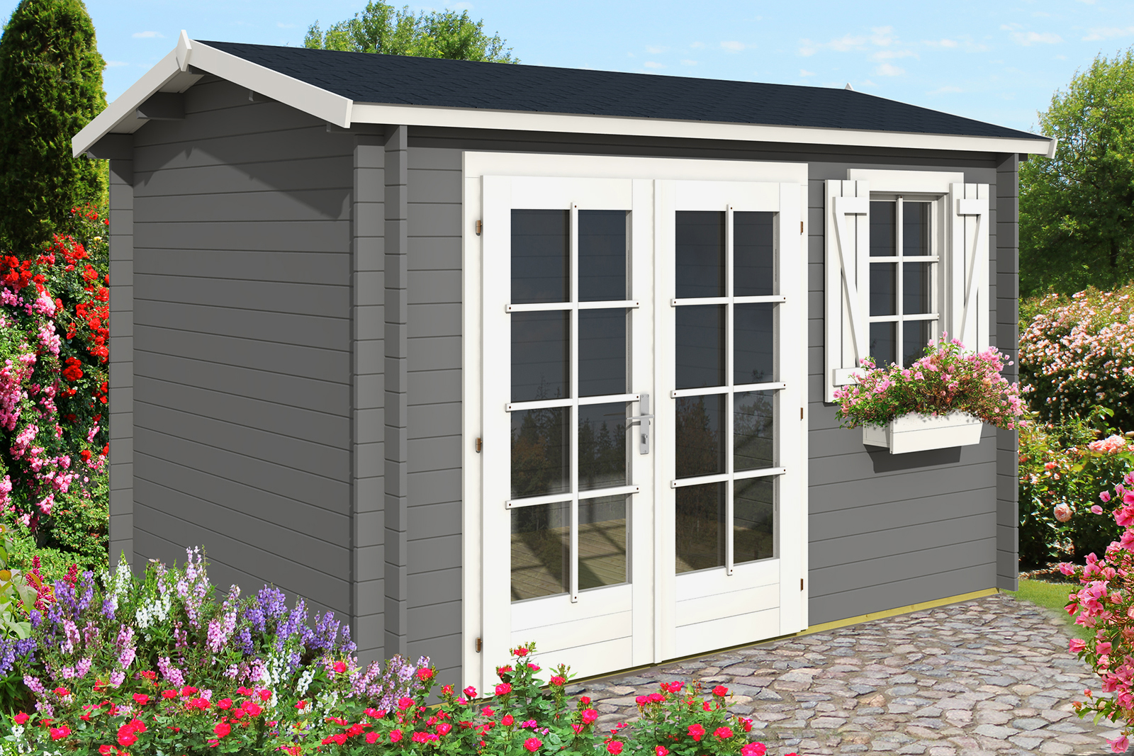 gartenhaus luisa 28 gartenhaus luisa 28. Black Bedroom Furniture Sets. Home Design Ideas