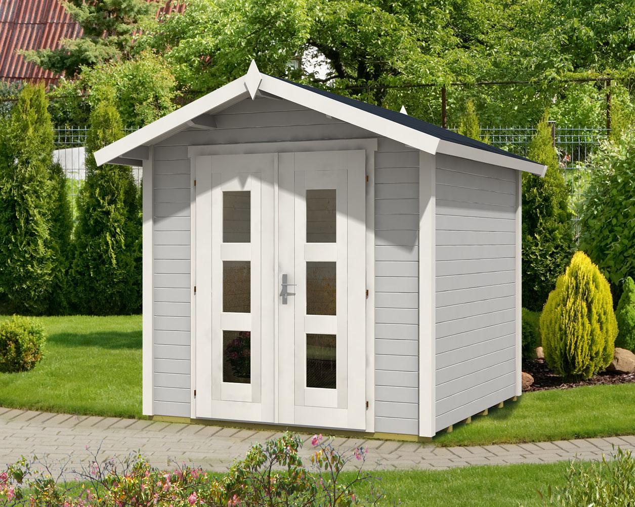 gartenhaus viva 28 a premium. Black Bedroom Furniture Sets. Home Design Ideas