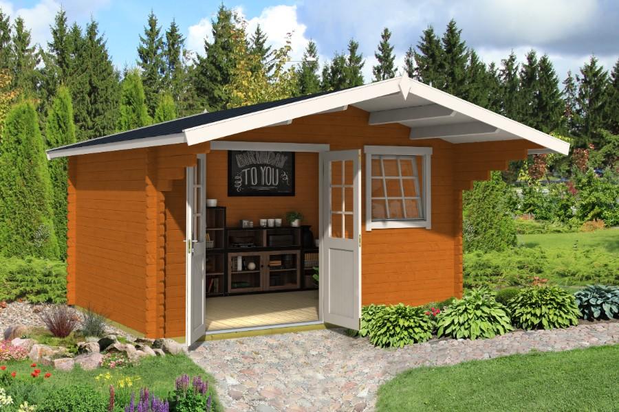 lasita maja gartenhaus gotland 3e. Black Bedroom Furniture Sets. Home Design Ideas