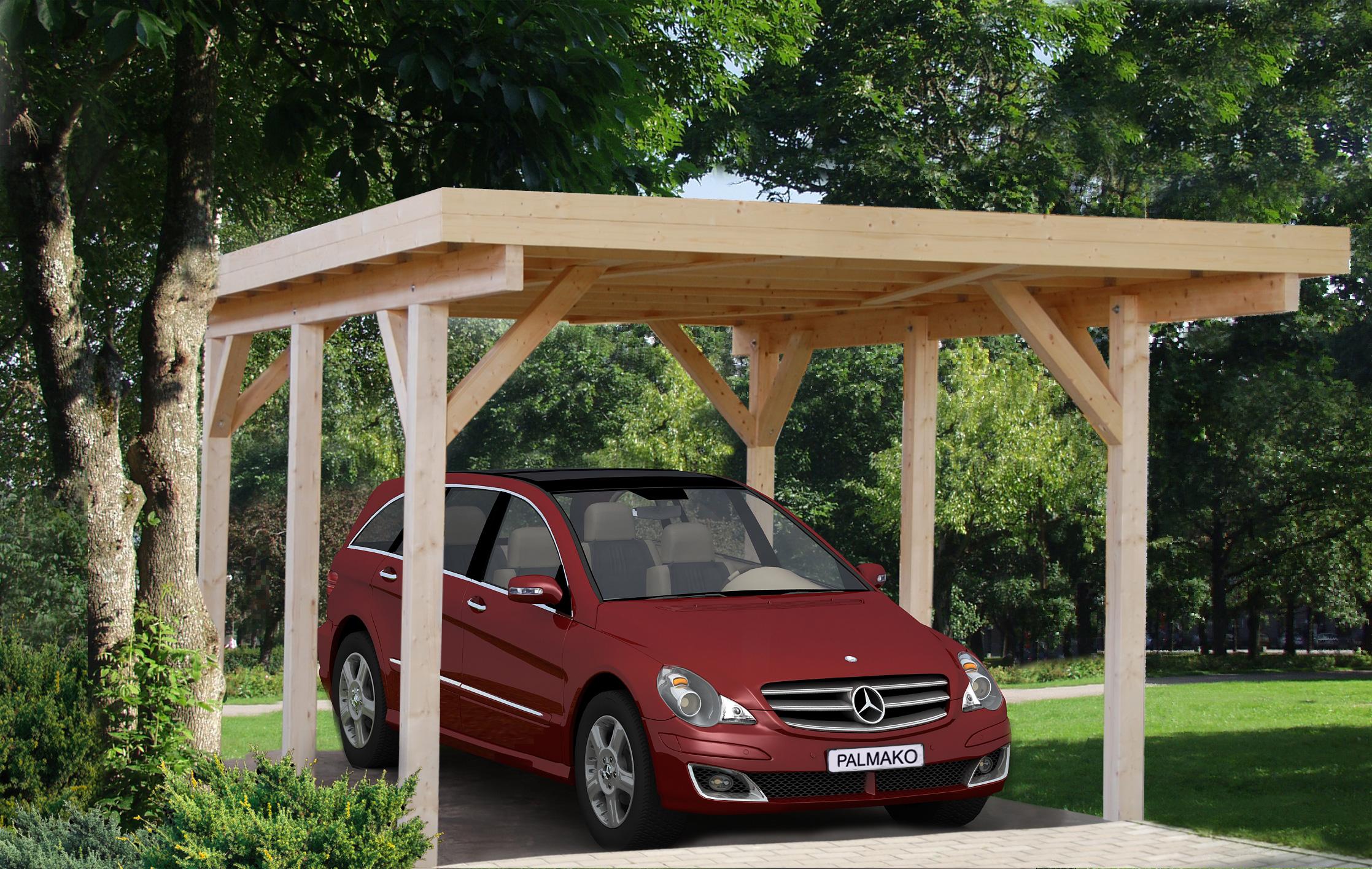palmako carport karl 11 7 m cp3651. Black Bedroom Furniture Sets. Home Design Ideas