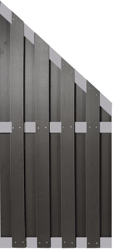 alpholz tony wpc bretterzaun. Black Bedroom Furniture Sets. Home Design Ideas