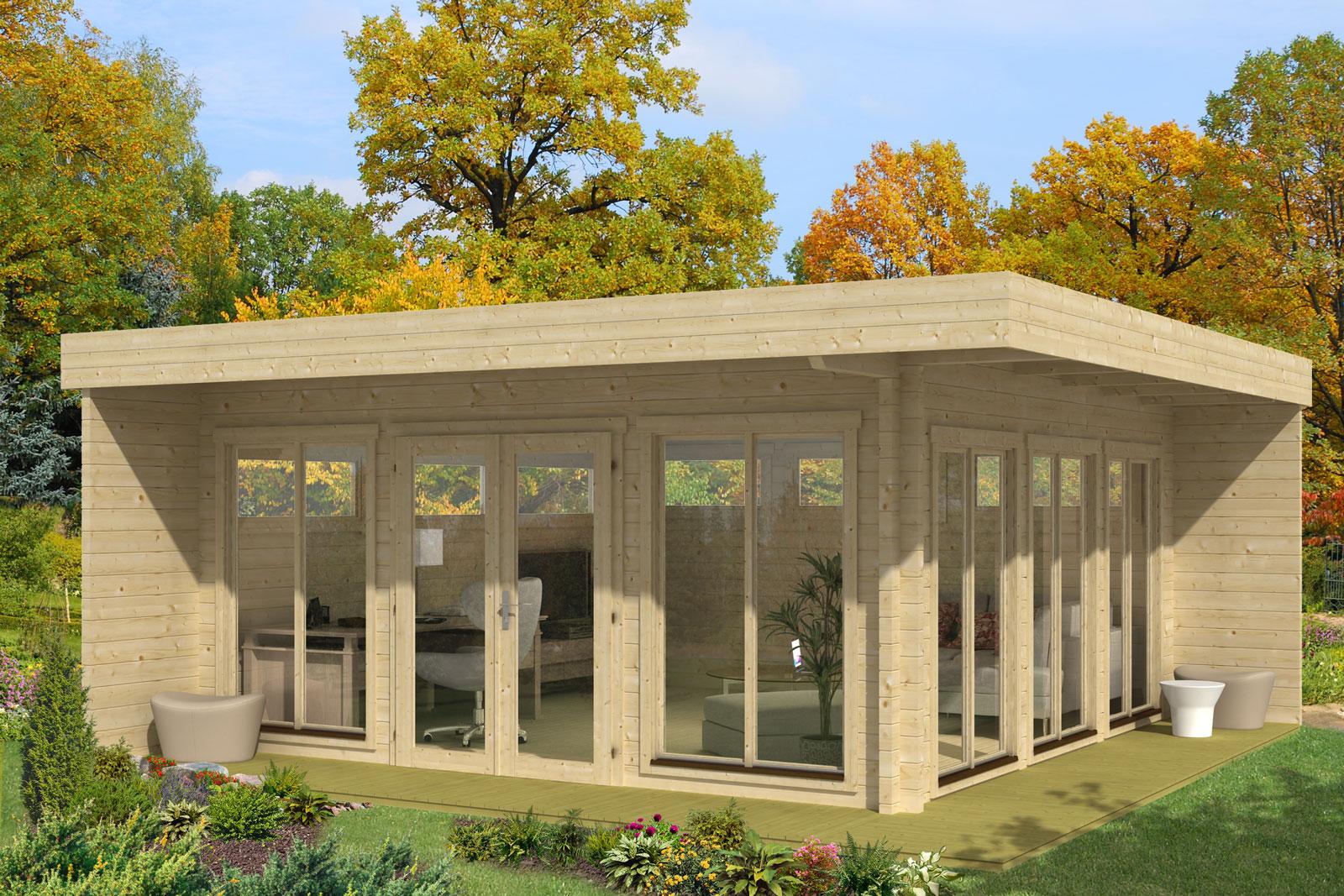 gartenhaus home office 70. Black Bedroom Furniture Sets. Home Design Ideas