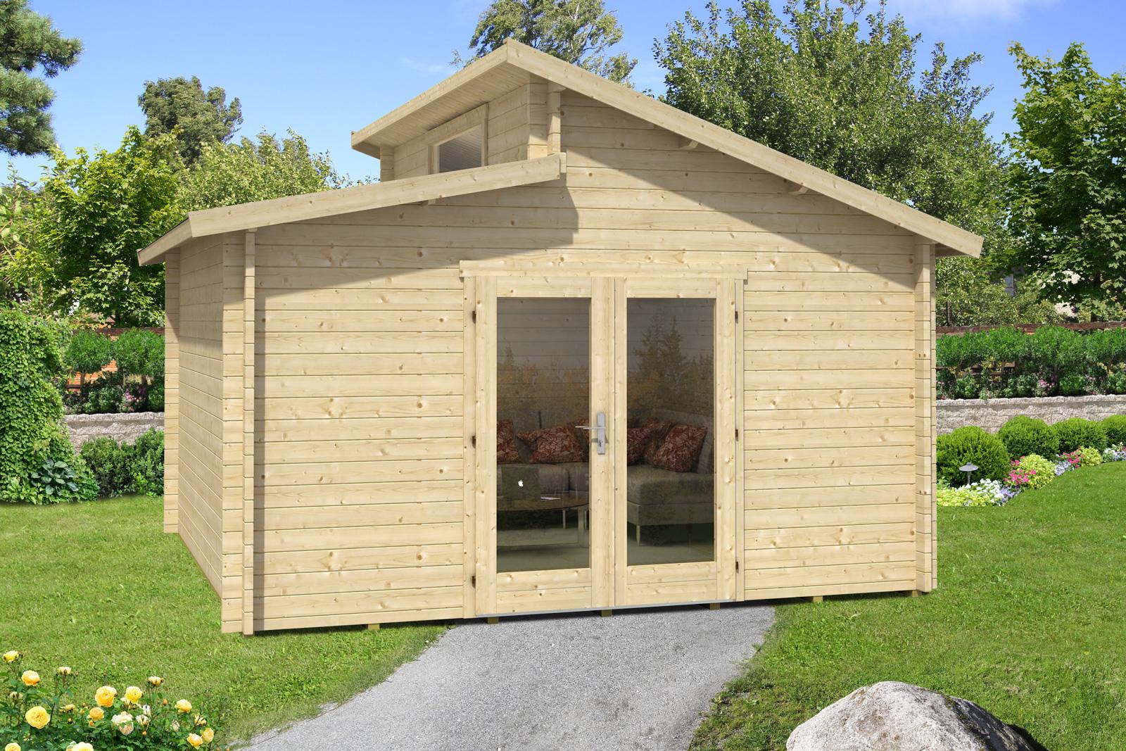 gartenhaus modell lausitz 70. Black Bedroom Furniture Sets. Home Design Ideas