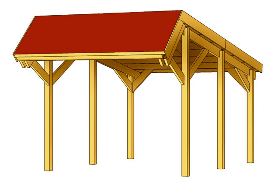 carport harz 321 x 560 cm. Black Bedroom Furniture Sets. Home Design Ideas