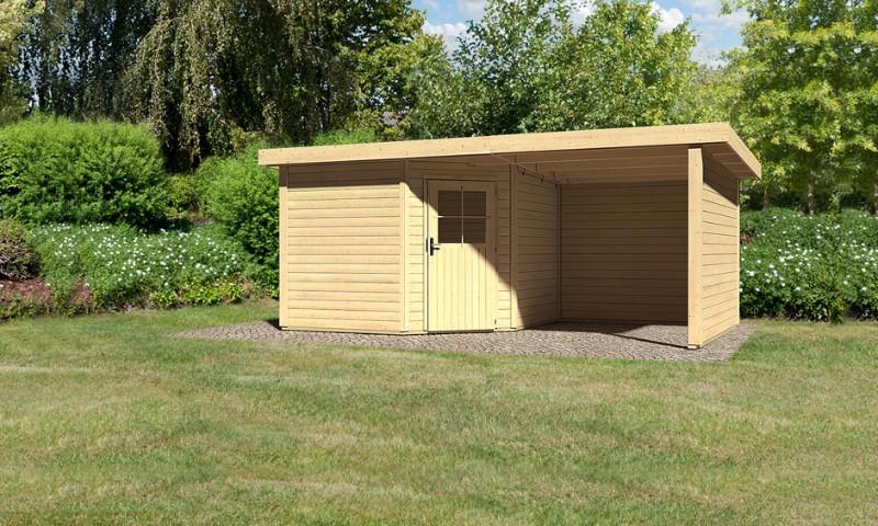 gartenhaus neuruppin 3 mit sd und seiten u r ckwand. Black Bedroom Furniture Sets. Home Design Ideas