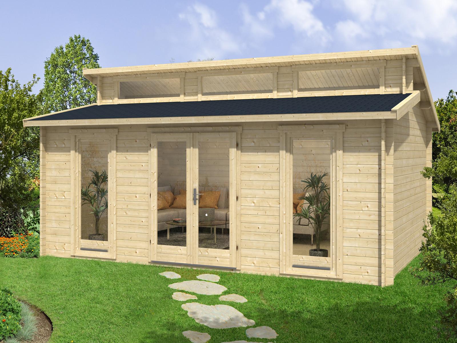 gartenhaus narvig 40 c. Black Bedroom Furniture Sets. Home Design Ideas
