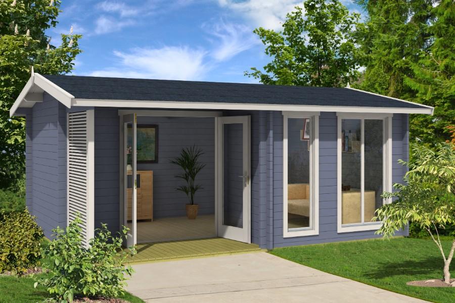 lasita maja gartenhaus brighton 44 iso 4416902. Black Bedroom Furniture Sets. Home Design Ideas