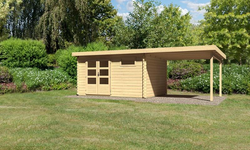 gartenhaus bastrup 8 mit 3m sd. Black Bedroom Furniture Sets. Home Design Ideas