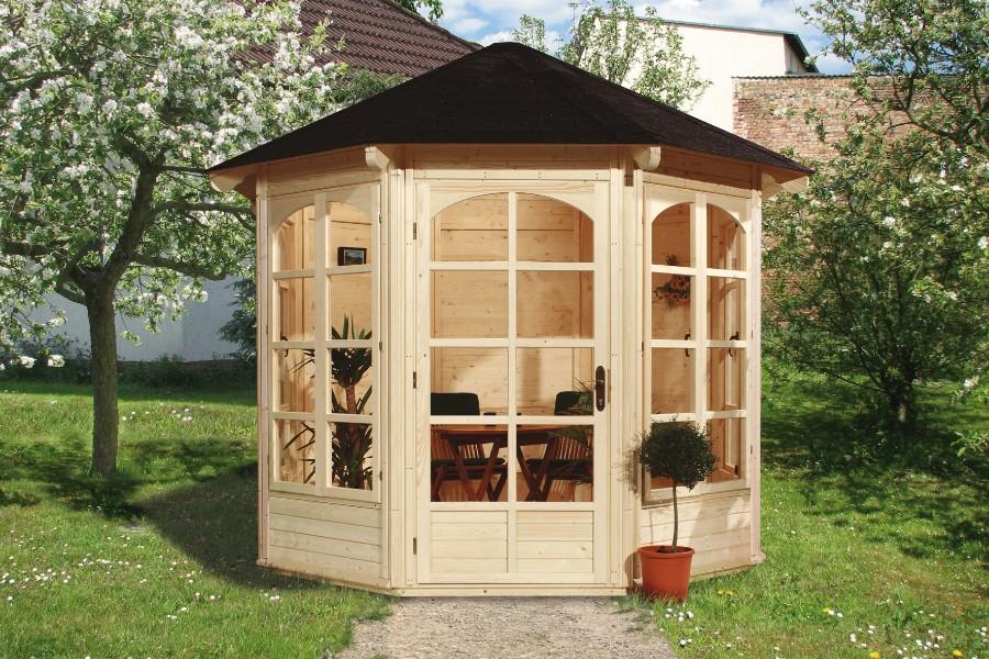 weka 8 eck pavillon 234 a. Black Bedroom Furniture Sets. Home Design Ideas