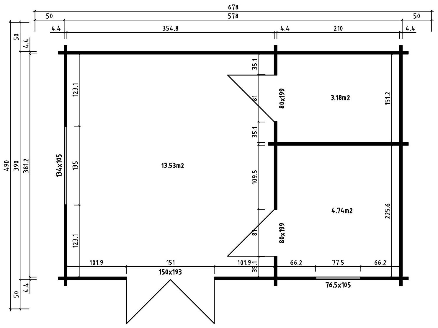 garten und freizeithaus arizona 44 iso garten und. Black Bedroom Furniture Sets. Home Design Ideas