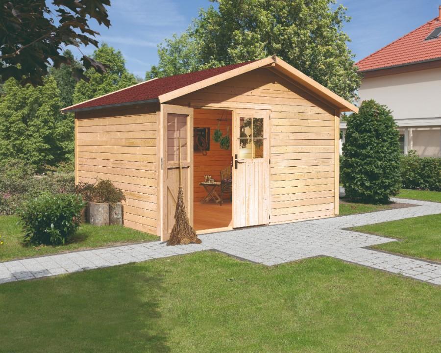 karibu gartenhaus oldeborg 1. Black Bedroom Furniture Sets. Home Design Ideas